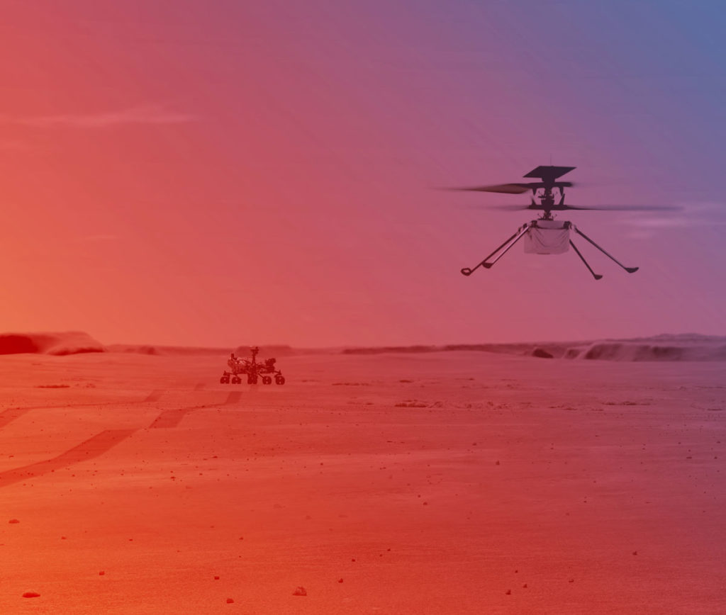 Linux im All im Betriebssystem des Mars-Helikopters Ingenuity